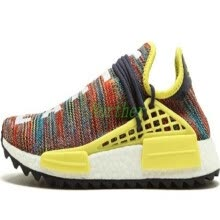 -Human Race HU Trail Running Shoes Mens Women Pharrell Williams Runner Yellow Black White Red Green Grey Blue Sports Sneakers 36-47 on JD