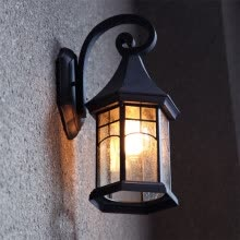 wall-lights-Baycheer HL409901 Industrial Wall Sconce with Wrought Iron Diamond Shape Metal Cage Frame on JD
