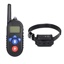 training-behavioral-aids-H556 Waterproof Rechargeable Remote Electric Shock Anti-Bark Dog Training Collar on JD