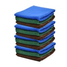 -Yinglite 10PCS 30*30cm Microfibre Magic Cleaning Cloths car towel. Anti Bacterial Microfibre Cloths . towels car Cleaning on JD