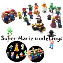 -Super Mario Brothers Action Figures Cartoon Toy Set 18 Assorted Characters for Hours of Creative Play on JD