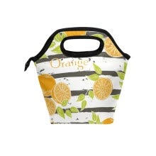 -Lunch Bag Tote Bag Orange Travel Picnic Organizer Lunch Holder Handbags Lunch Bag Box for Office on JD