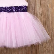 mother-of-the-brides-dresses-Pretty Toddler Baby Girls Princess Bowknot Tunic Tulle Party Dress Sundress on JD