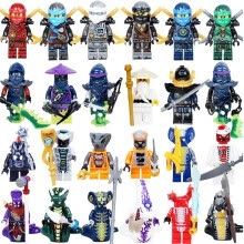 -Ninja Model Building Block Classic Action figures toys for Children gifts with NinjagoINGly LegoINGlys bricks Toys on JD
