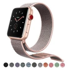 other-accessories-Kebbit Nylon Sport Band para Apple Watch Series 4 3 2 1 38MM 42mm 40MM 44mm Correa de reloj transpirable suave Bandas iWatch coloridas on JD