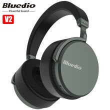 -Bluedio V2 Smart Bluetooth Wireless Headsets Bass Gaming Noise Reduction Headphones on JD
