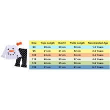 -Toddler Kids Clothes Infant Girls Christmas Snowman Ruffle Polka Dot Outfits Set on JD