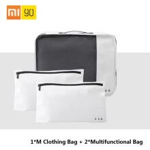 -Xiaomi 90fun Multifunctional Travel Storage Bag Clothes Makeup Wash Bag Cosmetic Case Accessories Container Organizer Office Stora on JD
