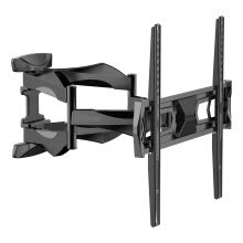 -Articulating Arm 32-50 inch TV LCD Monitor Wall Mount, Full Motion Tilt Swivel and Rotate for 32' 36' 37' 40' 42' 46' 50' LED TV Flat Panel Screen with VESA 400x400mm on JD