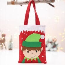 girls-sportswear-Christmas Candy Gift Bag Elf Elk Pants Felt Cloth Xmas Party Home Decoration on JD