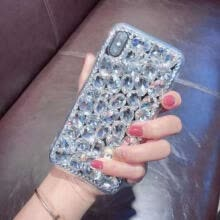 -Luxury Bling Crystal Diamond Rhinestone Jewelled Case Cover For iPhone X 8 Plus on JD