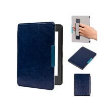 shutters-Magnetic Folio PU leather smart cover case with hand grap cover for 2016 All-New Kindle (8th Generation 2016)ereader cover case on JD