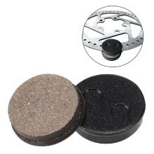 -Skateboard Rear Disc Brake Accessory Braking Pads Kit Replacement Parts for Xiaomi Mijia M365 Electric Scooter on JD