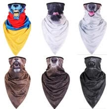 headband-Animal Pattern Cycling Motorcycle Head Scarf Neck Warmer Face Mask Ski Headband on JD