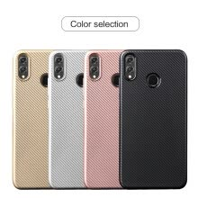 -Goowiiz Phone Case For Huawei Honor Play/10 Lite/8X/P Smart Plus/Nova 3i Luxury Ultra-thin Carbon Fiber Soft Silicone protection on JD