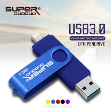 -High speed USB 3.0 PenDrive 128gb 64gb 32gb 16gb OTG USB Flash Drive usb key pendrive for Android Smartphone cle usb on JD
