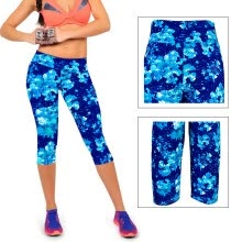 875061825-MyMei Femme Legging Jambiere Pantalon Floral Yoga Gym Stretch Sport Mince Compression on JD