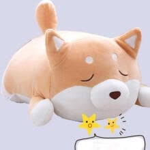 -Plush Stuffed Animal Big Shiba Inu dog Toy Pillow Soft Cushions Cute Pet Doll on JD