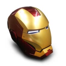 -Super Hero Iron Man 1/1 Mark7 Wearable Helmet Full Scale Mask Replica for Festival Party Decoration Kids Toys on JD