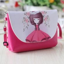 -Children Kids Girls Cat Tote Handbag Shoulder Messenger Bags Crossbody Wallet UK on JD