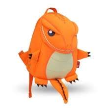 school-bags-NOHOO Dragon Kids Baby Cartoon Waterproof School Bags 3D Animals Backpack for Girls Boys Toddler Orange Green School Bags on JD