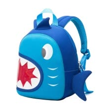 school-bags-NOHOO Waterproof Children School Bags Backpack Blue 3D Shark Kids Baby Bags Cartoon Animal Children School Bags on JD