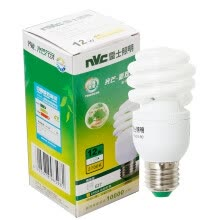 -[Jingdong Supermarket] NVC lighting (NVC) energy-saving lamps E27 large mouth spiral 12W2700K incandescent light (yellow) on JD
