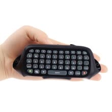 -Wireless Controller Messenger Game Keyboard Keypad ChatPad For XBOX 360 Black on JD