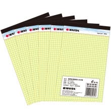 -KAISA V-00270 Legalpad American A4 Yellow Paper | 5 x 5mm (with tape) 8.5 on JD