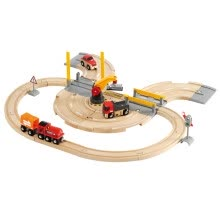 other-rc-toys-BRIO rail car subway station set train track toys scene puzzle children's toys train series sound and light subway station set BROC33513 on JD