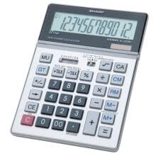 875065887-Sharp EL-2128 Calculator on JD