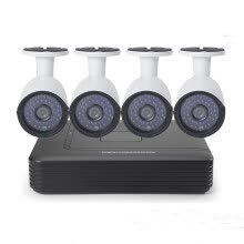 -Cotier CCTV Security Camera System 4CH 1U DVR H.264 1080N AHD Outdoor Camera 960P Bullet  CCTV Kit on JD
