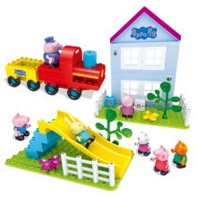 -Banbao Peppa Pig Building Blocks ConstructionToys on JD