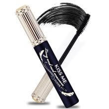 mascara-KissMe (KissMe) stunning curl mascara 6g (01 obsidian black) (curling sweat resistant to water resistant to sebum hot water that is unloading) on JD