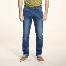 875068681-Camel (CAMEL) Men's waist zipper Slim Slim Pants Fashion jeans Male X6X316400 Blue 29 on JD