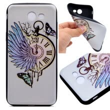 -Pocket watch Pattern Soft Thin TPU Rubber Silicone Gel Case Cover for Samsung Galaxy A3 2017/A320 on JD