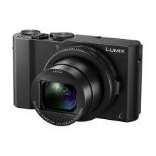 -Panasonic (Panasonic) LX10 black card digital camera (2010 million pixels equivalent 24-72mm F1.4-2.8 large aperture Leica lens five-axis anti-shake WIFI) on JD