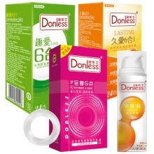 -Donless Condom for Men (Gift: Lubricant / Vibrating Egg) 24 *2 pack on JD