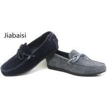 -Jiabaisi Men shoes casual  Summer shoes men softstar moccasins adult leather boats men shoes comfort quality suede men shoes on JD
