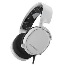 -Sushi (SteelSeries) Arctis Ice 3 7.1 Surround Sound Professional Point Microphone Professional gaming gaming headset headset white on JD