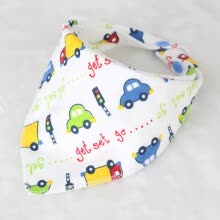 products-for-babies-1pcs Colorful Baby Bibs Print Bavoir Soft Cotton Baby Bandana Baby Bib random colour on JD