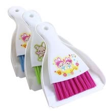 birds-fishes-other-small-animals-and-horses-Jesse (JESSIE) Cleaning Kit Rabbit Totoro and other small pet clean brush set clean shovel scraper on JD
