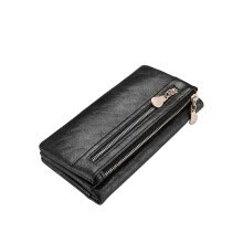 -New design women wallet long high quality female clutch zipper wallets cellphone bag pocket on JD