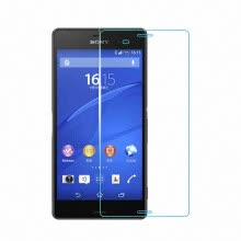 -WIERSS Tempered Glass Screen Protector guard for Sony Xperia Z3/Z3 dual L55 L55T D6603 D6643 D6653 Protective glass film on JD