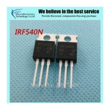 -10pcs free shipping IRF540N IRF540 IRF540NPBF MOSFET MOSFT 100V 33A 44mOhm 47.3nC TO-220 new original on JD