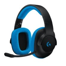 -Logitech G233 Wired Game Headset for PC、PS4、xbox、switch on JD