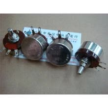 -RA30Y 20S B25K B-2W wirewound potentiometers on JD