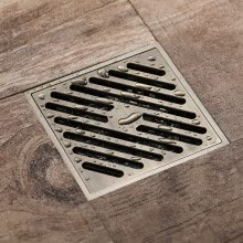 -HIDEEP Kitchen accessories Medium bronze The floor drain on JD