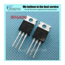 -10pcs free shipping IRF640N F640 IRF640NPBF MOSFET MOSFT 200V 18A 150mOhm 44.7nC TO-220 new original on JD