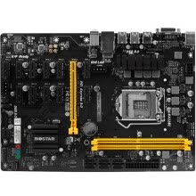 -BIOSTAR TB250-BTC PRO native support 12 PCI-E slot motherboard (Intel B250 / LGA 115A) on JD